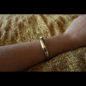 Golden Whiting & Davis Spring-Clip Bracelet